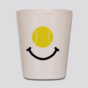 FBC Tennis Smile Black Shot Glass