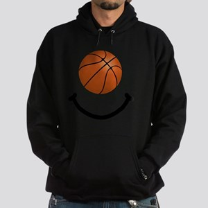 FBC Basketball Smile Black Hoodie (dark)