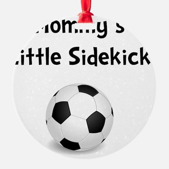 FBC Mommy Sidekick Black Ornament