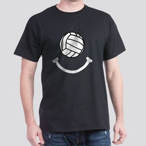 FBC Volleyball Smile White Dark T-Shirt