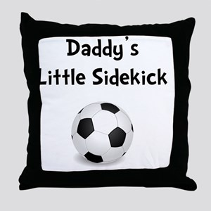 FBC Daddy Sidekick Black Throw Pillow