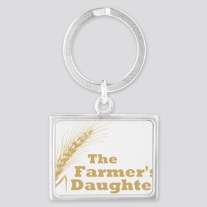 Farmers Daughter 2 Large Landscape Keychain