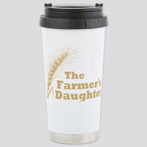 Farmers Daughter 2 Large Stainless Steel Travel Mu
