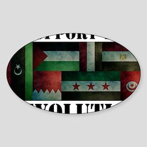 Revolution Sticker (Oval)