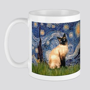 Starry Night Siamese Mug