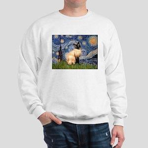 Starry Night Siamese Sweatshirt