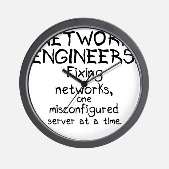 network-engineers Wall Clock