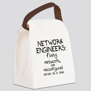 network-engineers Canvas Lunch Bag