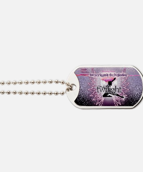 breaking dawn pink angel good copy Dog Tags
