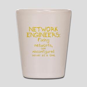 network-engineers-dk Shot Glass