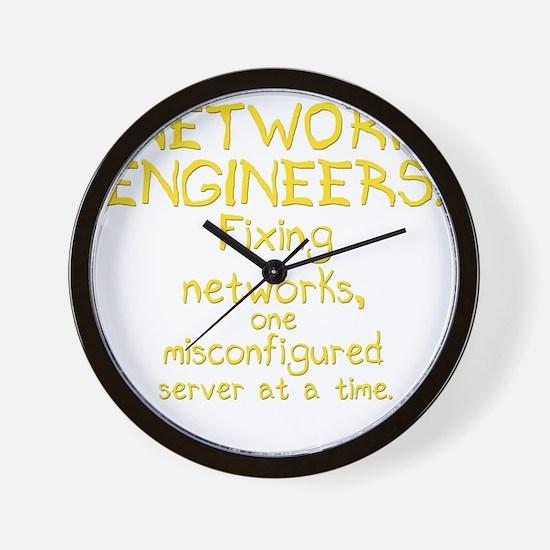 network-engineers-dk Wall Clock