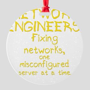 network-engineers-dk Round Ornament