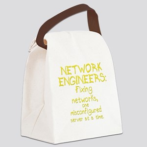network-engineers-dk Canvas Lunch Bag