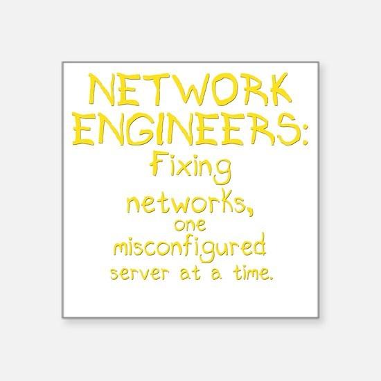 "network-engineers-dk Square Sticker 3"" x 3"""