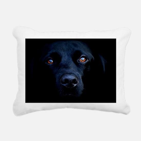 blacklab calendar Rectangular Canvas Pillow