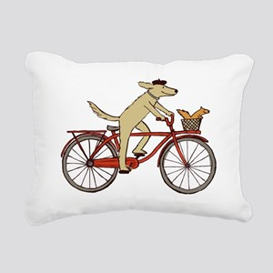 dogsquirreltee Rectangular Canvas Pillow