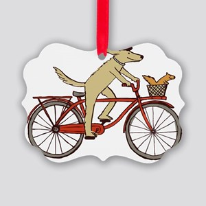 dogsquirreltee Picture Ornament