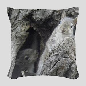 P5060139 Woven Throw Pillow