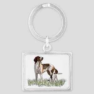 walker coonhounds Landscape Keychain