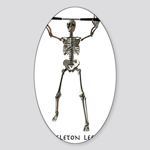 SkeletonLee Sticker (Oval)