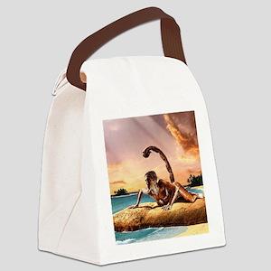 wallpaper_scorpion Canvas Lunch Bag