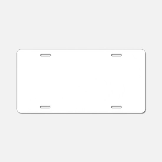 nuclear wh Aluminum License Plate