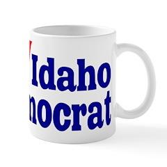 Ceramic Idaho Democrat Coffee Mug