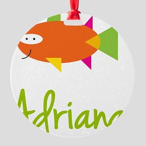 Adriana-the-big-fish Round Ornament