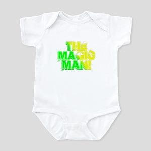 TMM green/yellow Infant Bodysuit