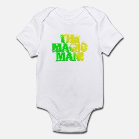 TMM green/yellow Infant Bodysuit