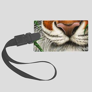 Tiger Nose (shoulder bag) Large Luggage Tag