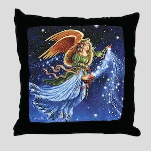 Angel Star Basket_Tile Throw Pillow