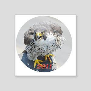 "linn_ornament2 Square Sticker 3"" x 3"""