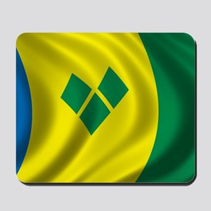 stvincent_flag Mousepad