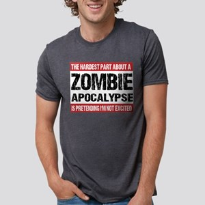ZOMBIE APOCALYPSE - The hardest part T-Shirt