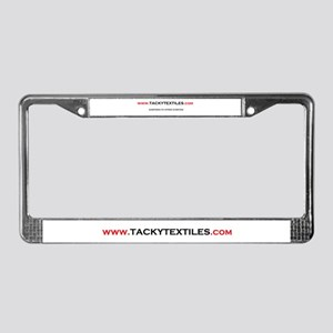tacky License Plate Frame