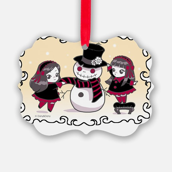 Chibi Christmas Ornament