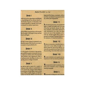 bill of rights gifts cafepress