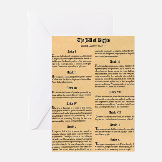 billofrights Greeting Card