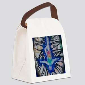 Fracture Canvas Lunch Bag