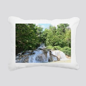 dunns falls Rectangular Canvas Pillow