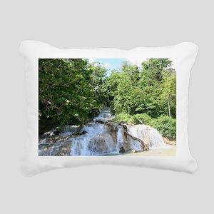 dunns falls Rectangular Canvas Pillow