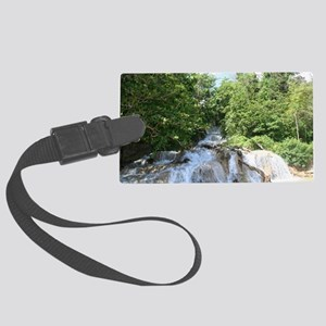 dunns falls Large Luggage Tag