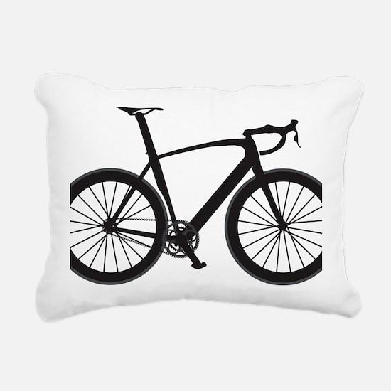 BARB_blk Rectangular Canvas Pillow