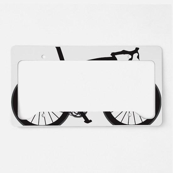 BARB_blk License Plate Holder