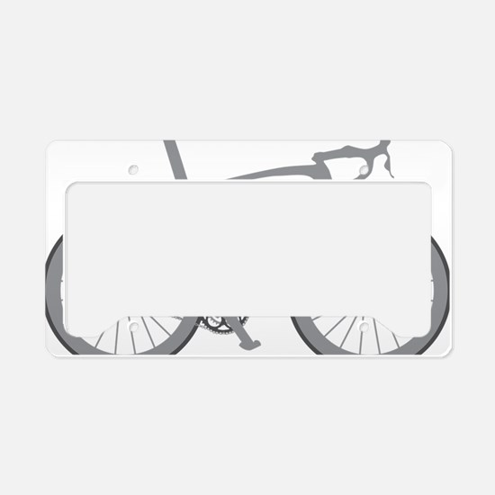 BARB_gray License Plate Holder
