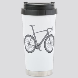 BARB_gray Stainless Steel Travel Mug