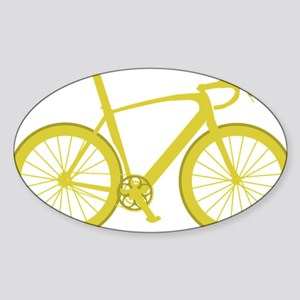 BARB_yellow Sticker (Oval)