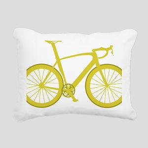 BARB_yellow Rectangular Canvas Pillow