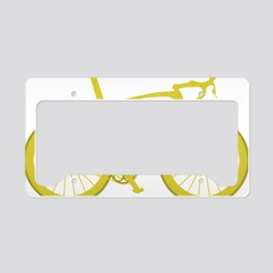 BARB_yellow License Plate Holder